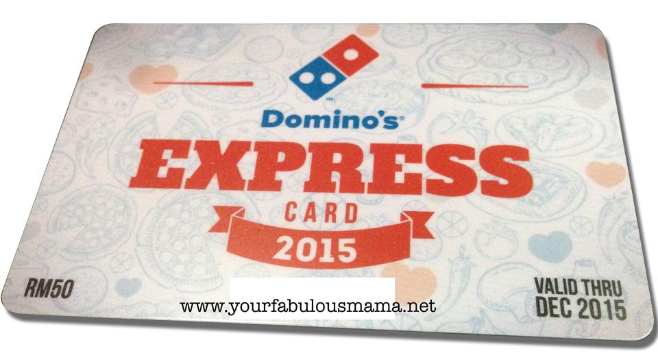 promosi kad domino pizza 2015