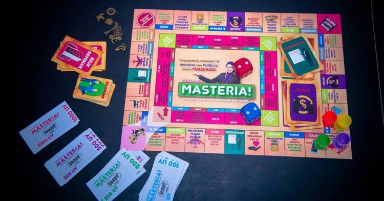Gameboard Masteria Shaklee Lagi Best Dari Monopoli
