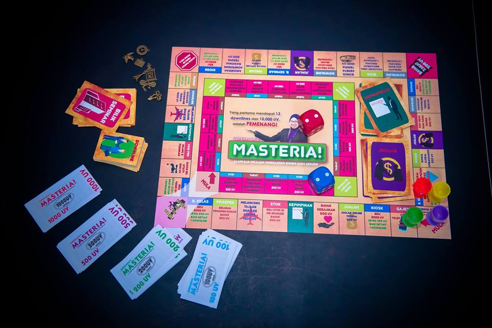 gameboard masteria shaklee