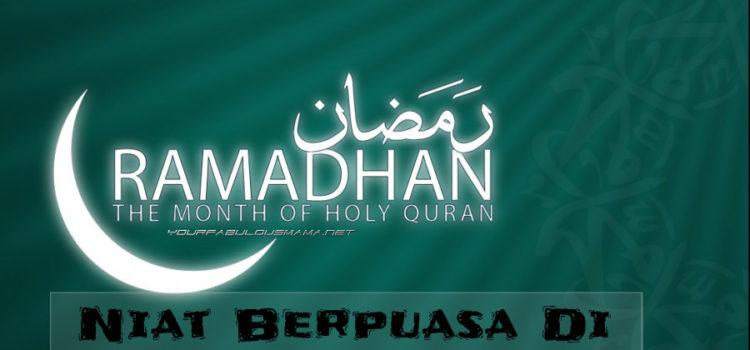 niat berpuasa ramadhan