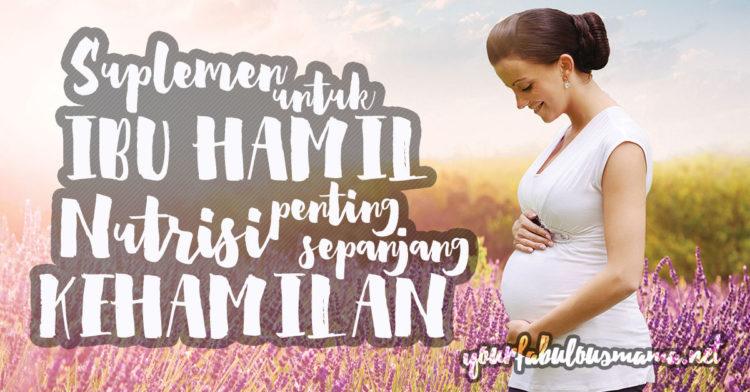 [Infografik] Nutrisi Untuk Ibu Hamil Agar Kekal Cergas Dan Sihat