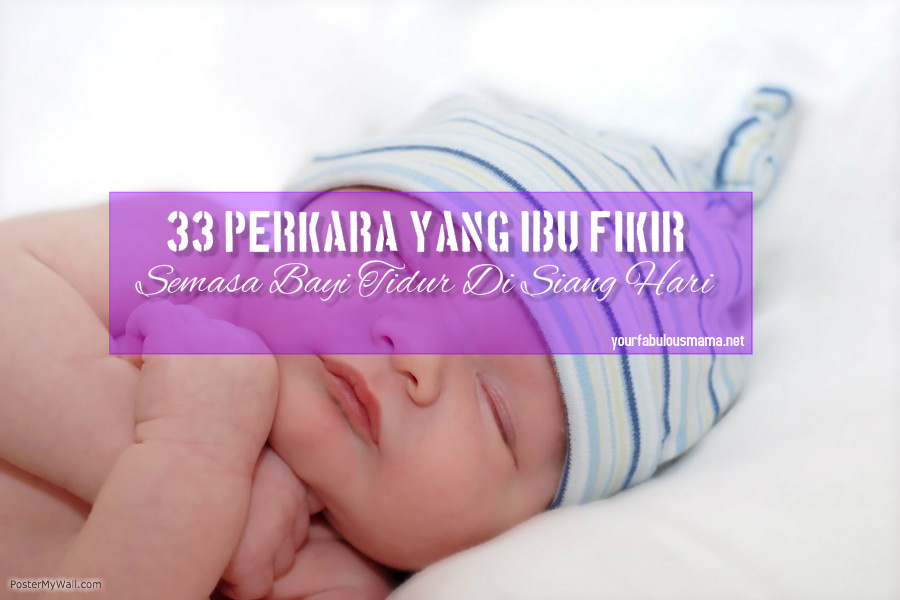 bayi tidur siang