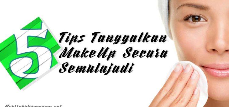 penanggal makeup semulajadi