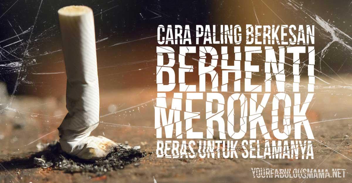 Cara Berkesan Berhenti Merokok