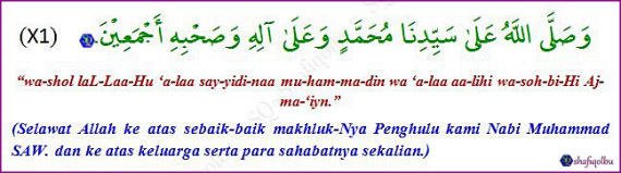 doa berhenti haid 6