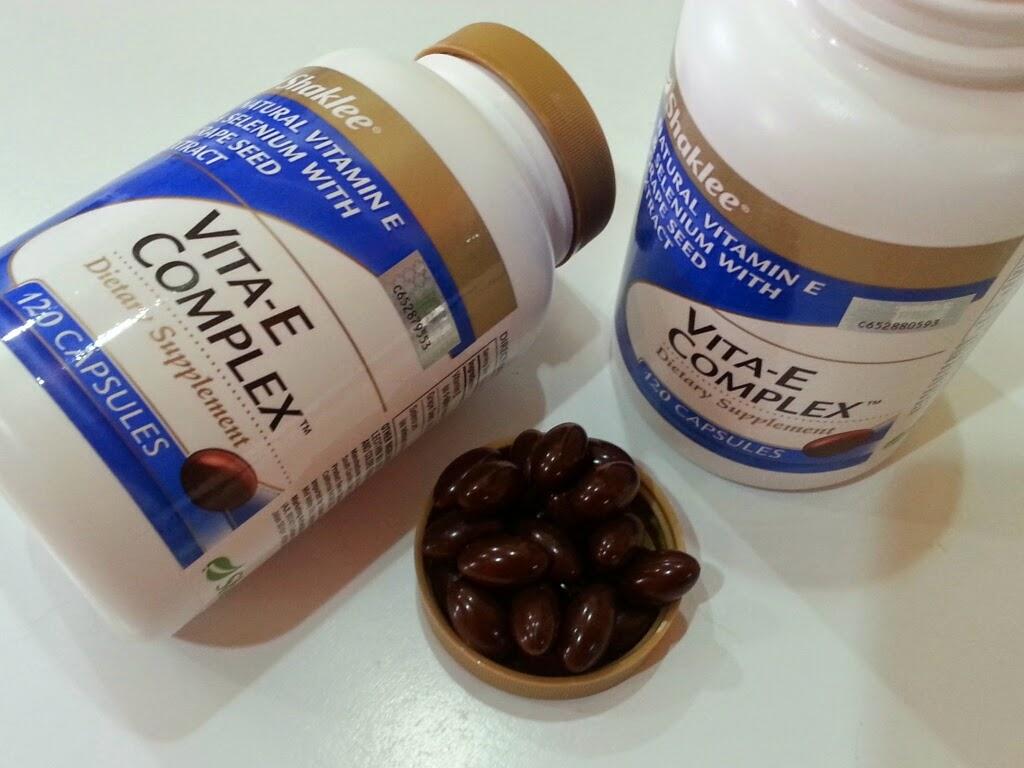 kebaikan vitamin e untuk kulit muka