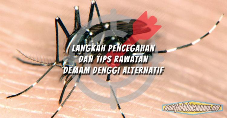 Langkah Pencegahan dan Tips Rawatan Demam Denggi Alternatif
