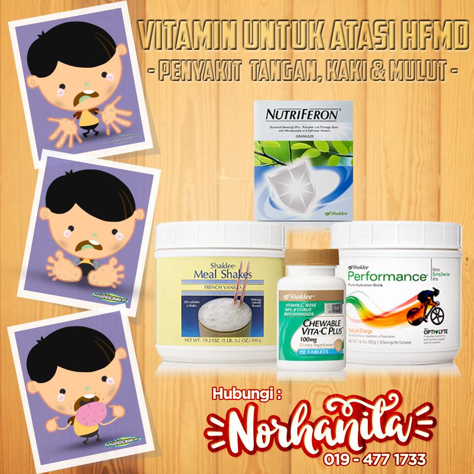 Vitamin Untuk Atasi HFMD