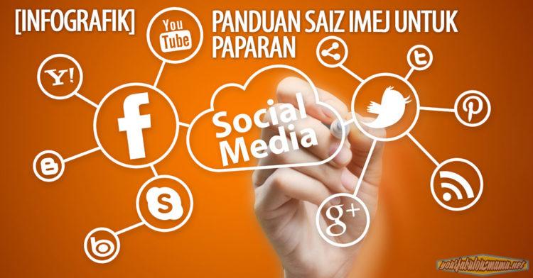 [INFOGRAFIK] Panduan Saiz Imej Untuk Paparan Di Sosial Media