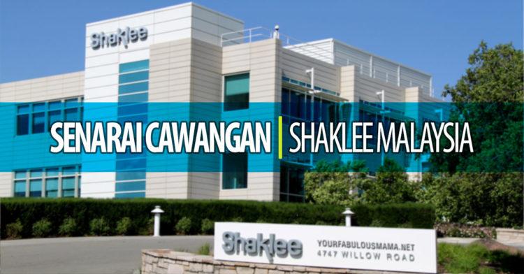 Senarai Cawangan Shaklee Malaysia