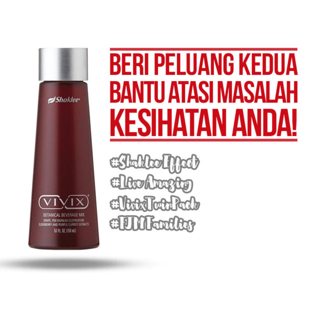 Beri peluang kedua dengan Vivix