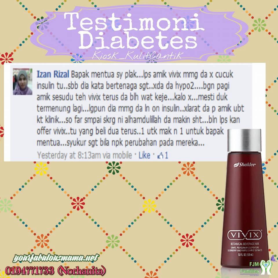 testimoni diabetes 2