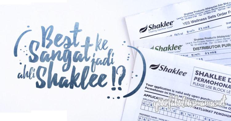 Cara Daftar Ahli Shaklee & Manfaat Daftar Keahlian Shaklee Dengan Yourfabulousmama.net