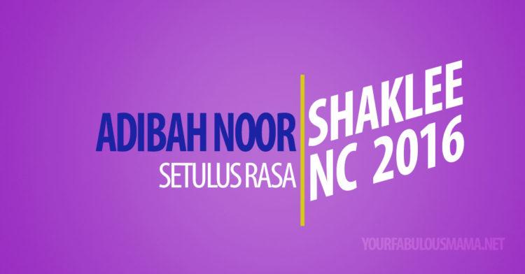 Adibah Noor Setulus Rasa Tersentuh Di National Conference Shaklee 2016