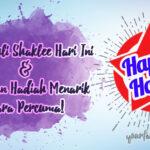 Happy Hours! Daftar Ahli Shaklee & Dapatkan Hadiah Percuma