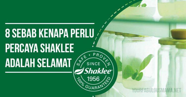 Kenapa Perlu Percaya Shaklee