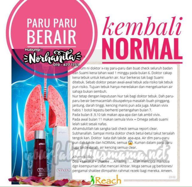 testimoni paru paru berair
