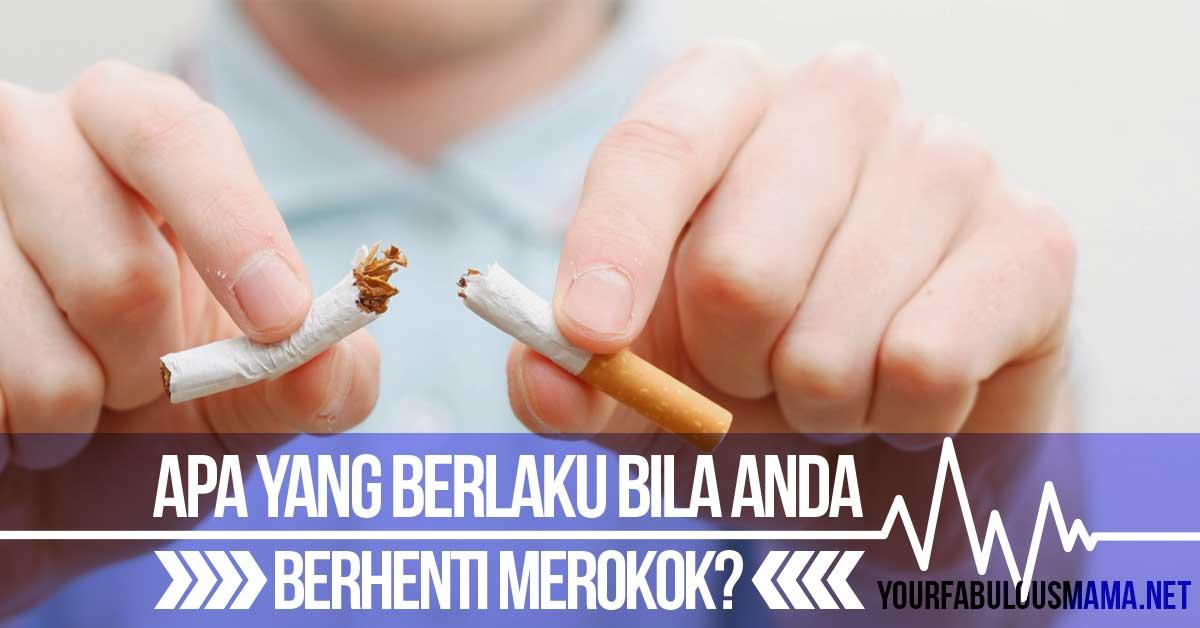 Kesan Berhenti Merokok