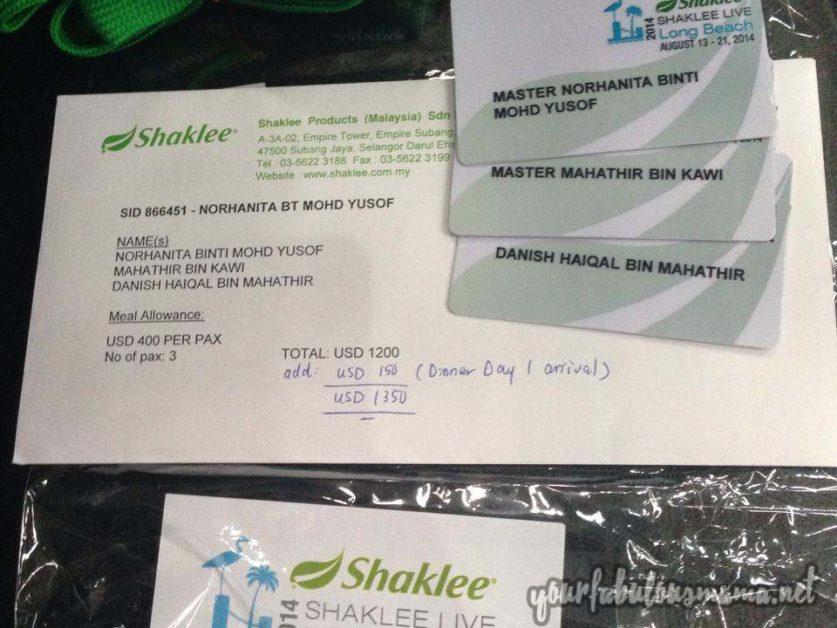shaklee incentive trip 2014