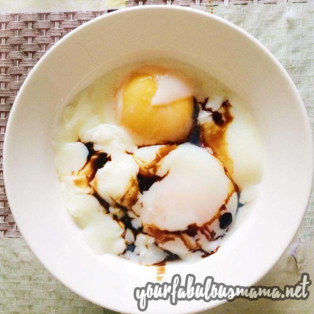 telur separuh masak rebus berapa minit