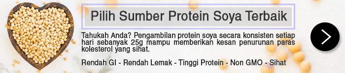 Sumber Protein Soya Terbaik