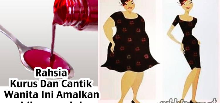 Rahsia Kurus Dan Cantik : Wanita Ini Amalkan Minuman Ini