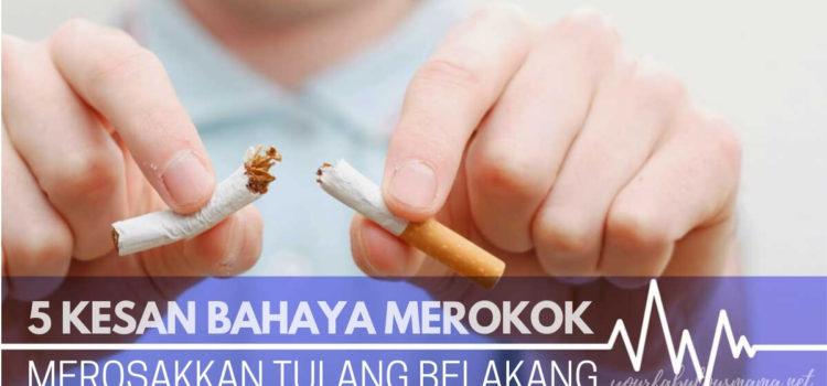 Kesan Bahaya Merokok