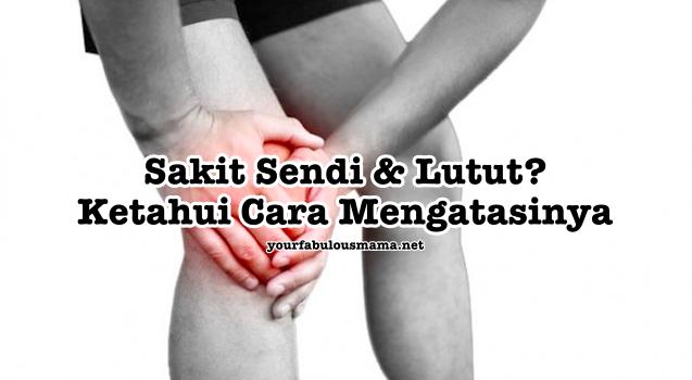Cara Hilangkan Sakit Sendi Lutut Secara Semulajadi Dan Selamat