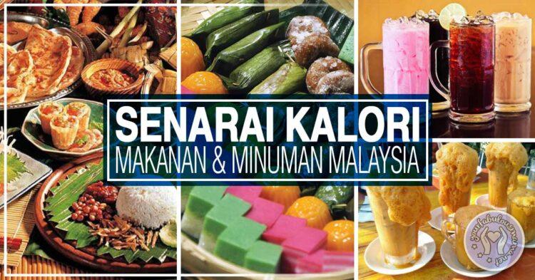 Panduan Kalori Makanan Malaysia