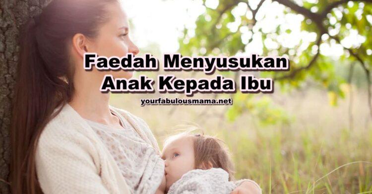 Faedah Menyusukan Anak Kepada Ibu