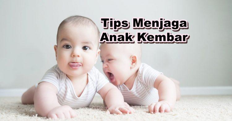 Tips Menjaga Anak Kembar