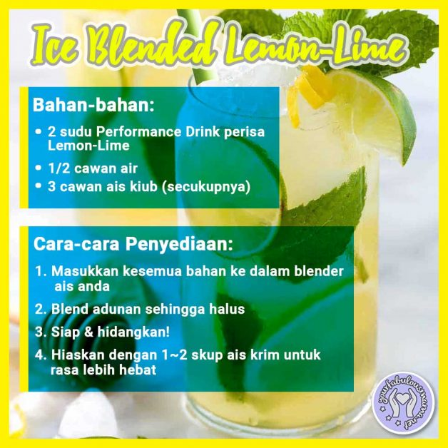 Ice Blended lemon Lime
